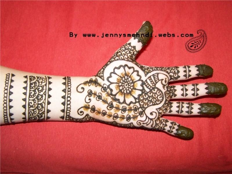 Floral Henna Designs 1