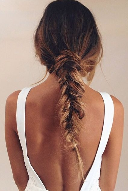 Knotted Braided Hairstyle