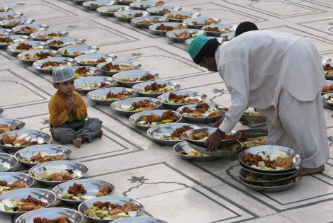 Ramadan Iftar Food Decoration
