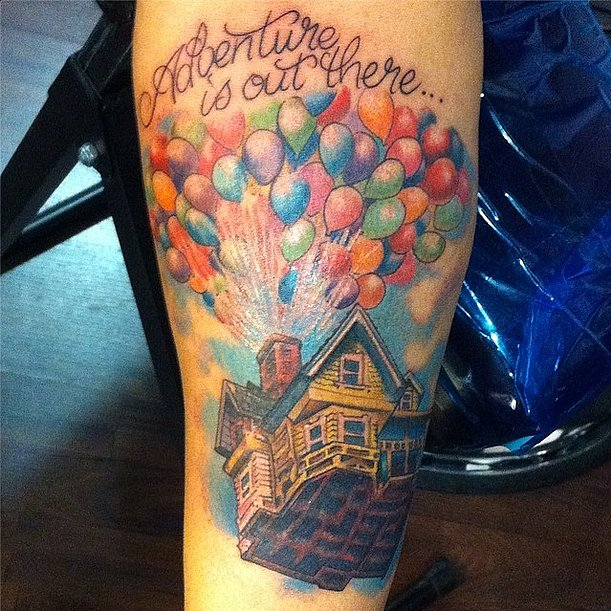 Up Movie quote tattoo