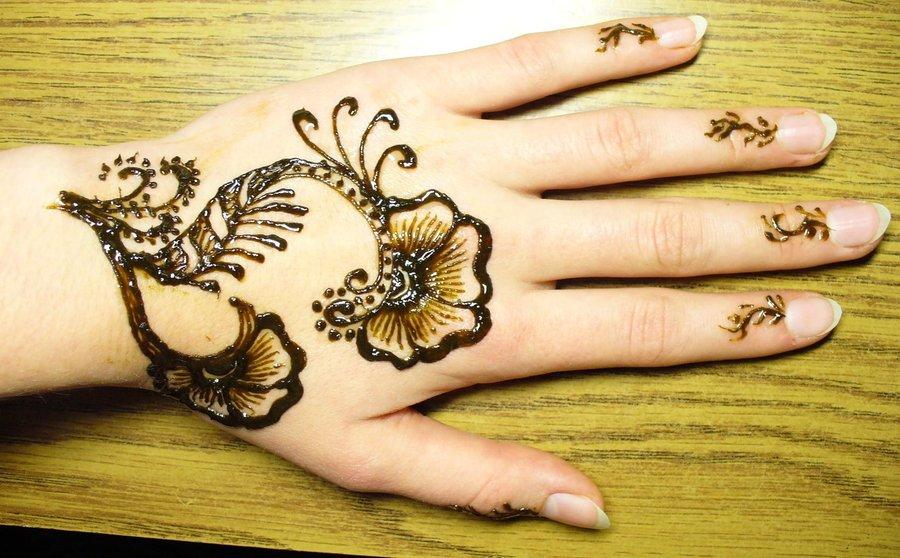 floral mehndi designs 2