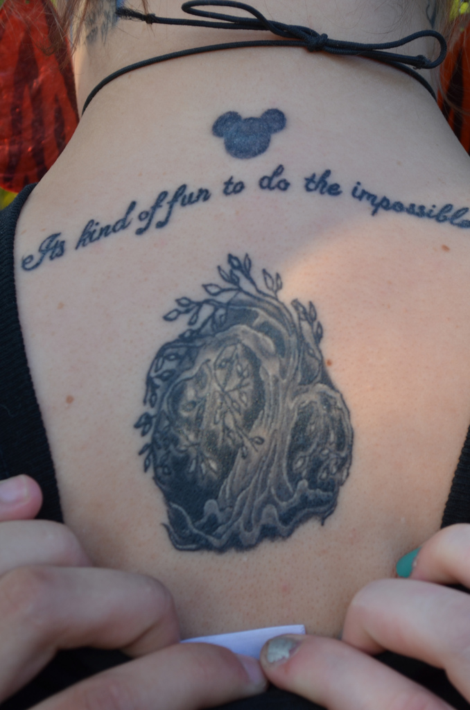 tattoo disney quote