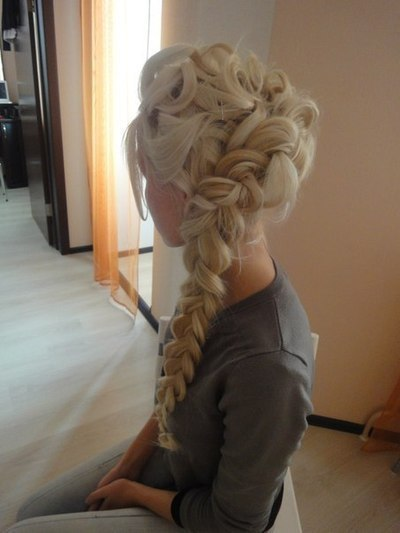 thick braided hair do