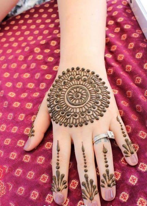 eid ul fitr henna design
