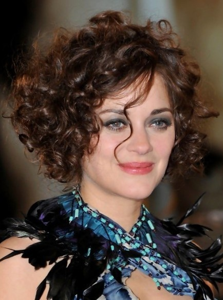 curly hairstyle for short hair 2015