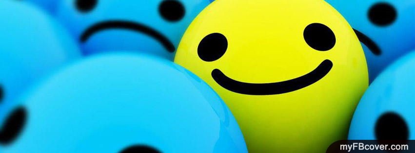 cute smileys fb cover