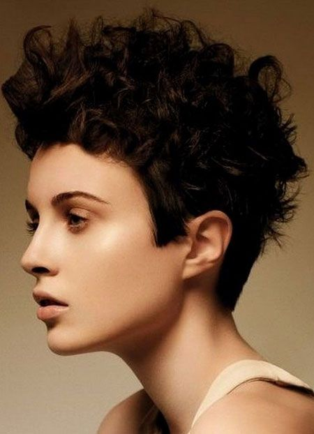 new curly hairstyles for short hair