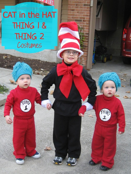 Dr Seuss Cat in the Hat Cute Costumes