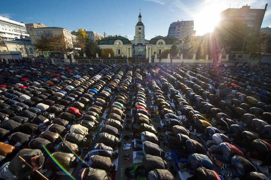 Eid Al Adha Prayer Kyrgyzstan