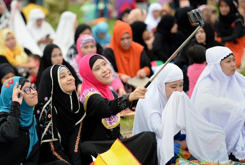 Eid Al Fitr at a park Manila