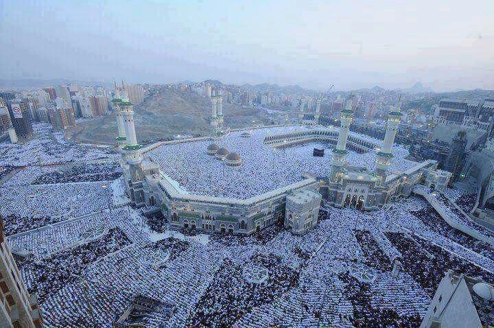 Eid al-Fitr Salah at Masjid al-Haram