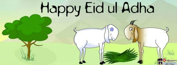 Happy Eid Ul Adha fb cover photos