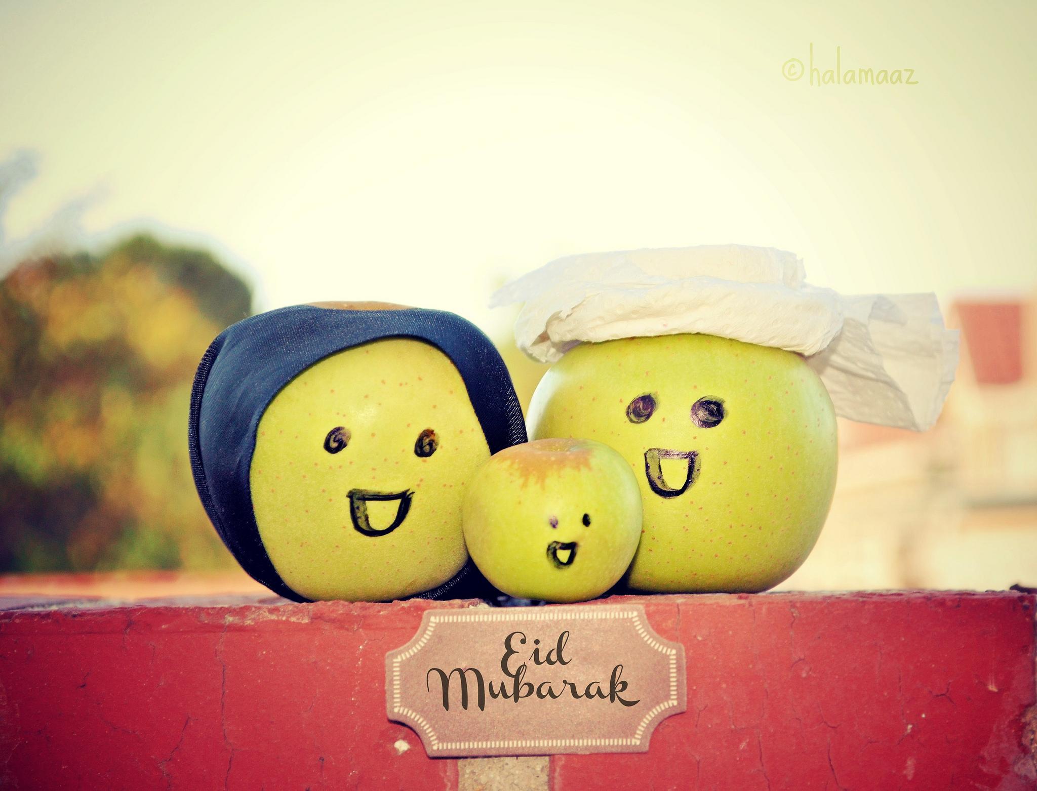cute Eid Mubarak photograph