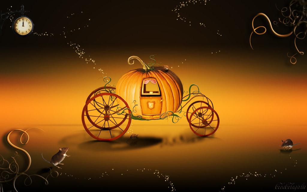 Cinderella's ride - Wallpaper