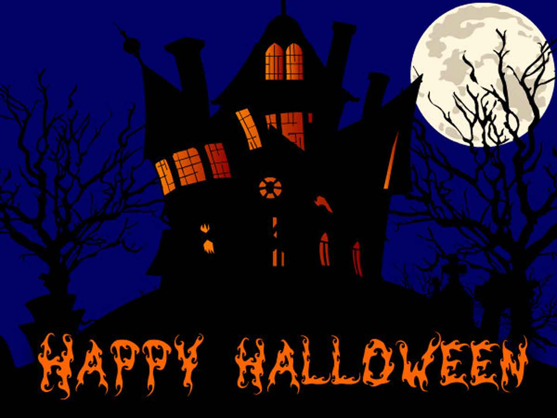 Happy-Halloween-scary-house-image
