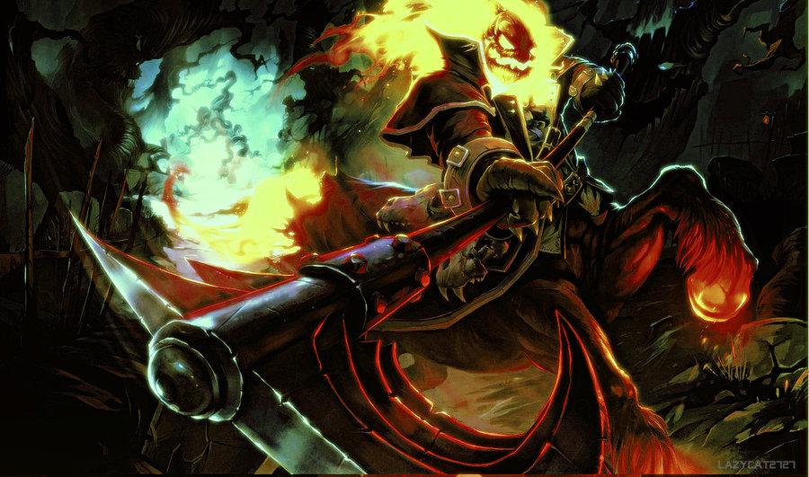 Hecarim-Burning Spirit