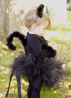 cat halloween costume for baby girls