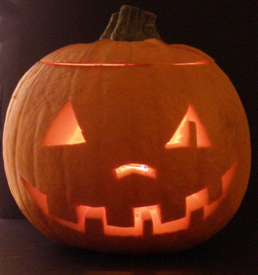 cool simple halloween pumpkin