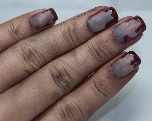 creepy scary zombie nails for halloween