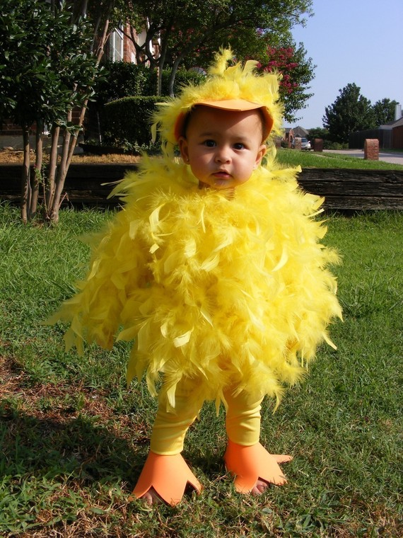 cute halloween checken costume for kids