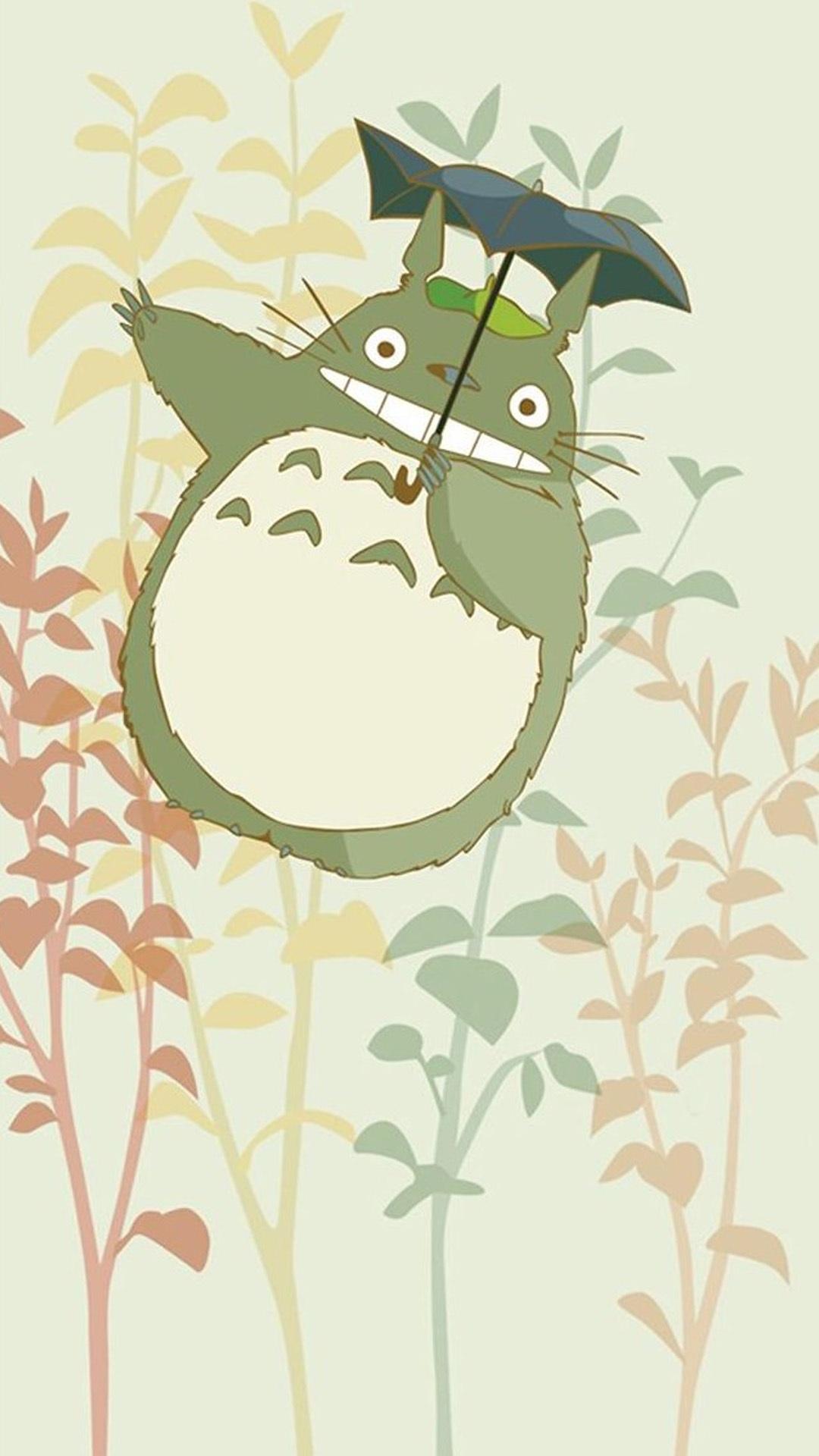 cute my neighbor totoro iphone wallpaper