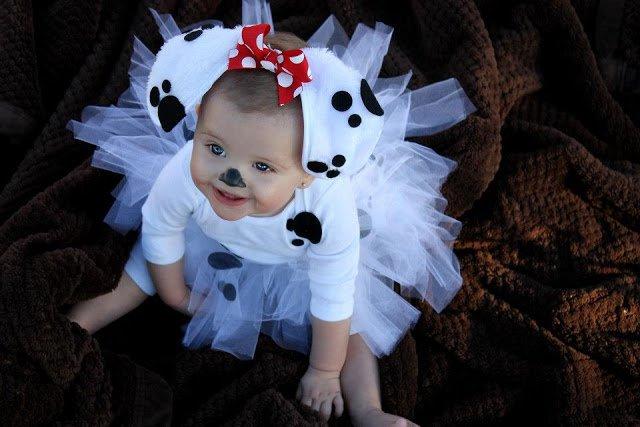 diy dalmation puppy halloween costume