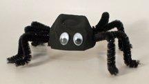 halloween spider craft idea for kids