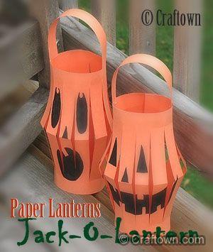 paper halloween craft ideas for kids