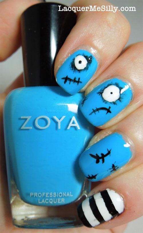 spooky tim burton moma nail art
