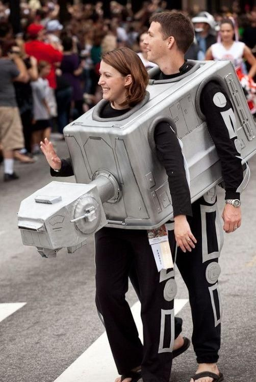 star wars costume for couples