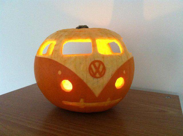 vw pumpkin carving idea