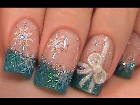 beautiful winter nail art