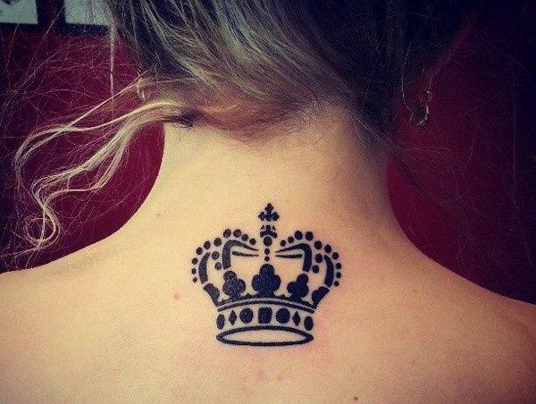 Crown Tattoo Designs for women