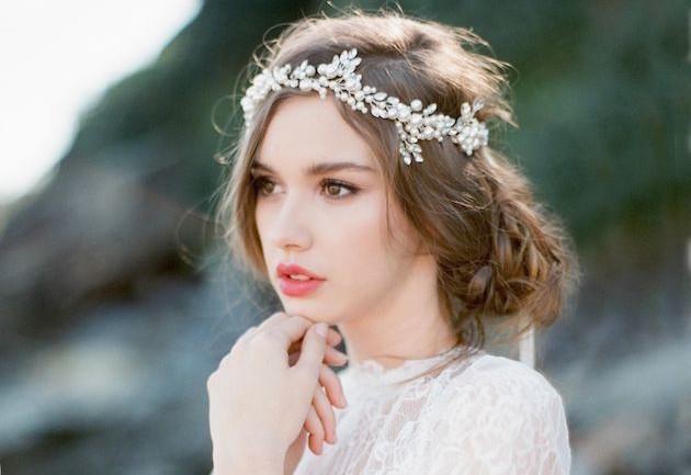 Unique Wedding Hairstyle As Bun Inspired