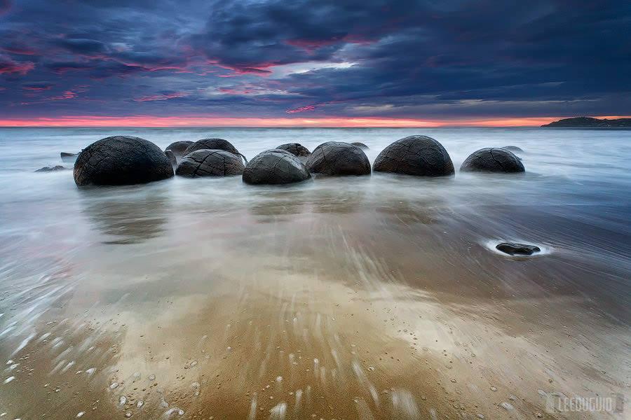 Spherical Boulders in New Zealand
