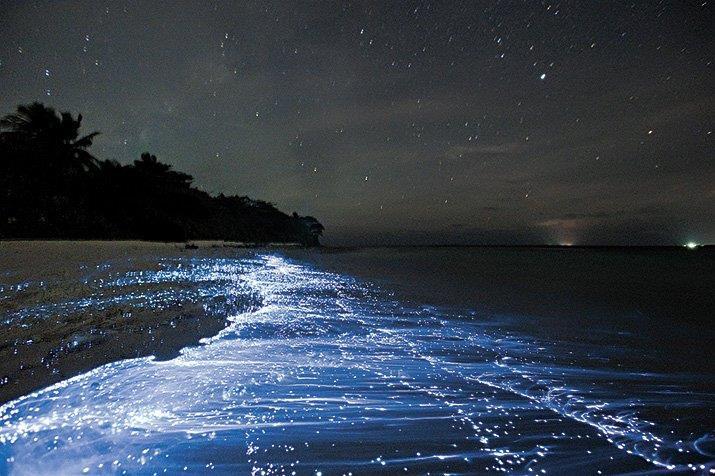 Vaadhoo Island in the Maldives