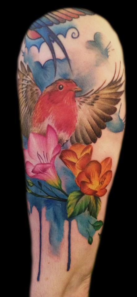 Cool Bird Tattoo