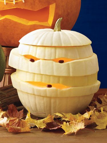 pumpkin-mummy-carving-ideas