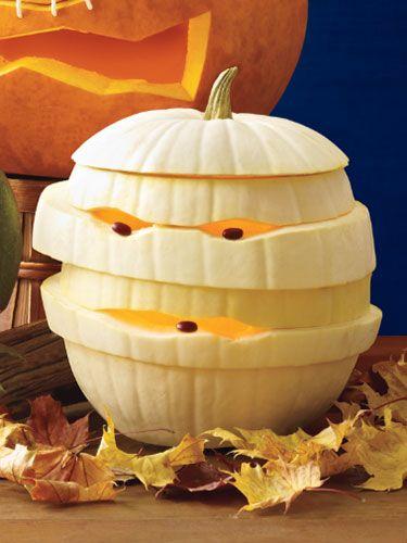 pumpkin-mummy-carving-ideas
