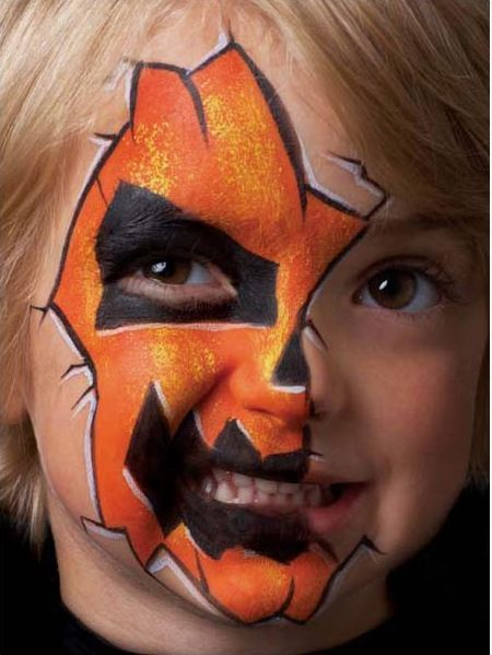 jack-o-lantern-halloween-face-painting