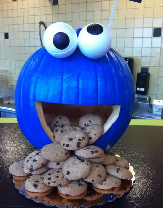 cookie-monster-pumpkin