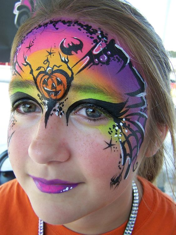 halloween-town-face-painting