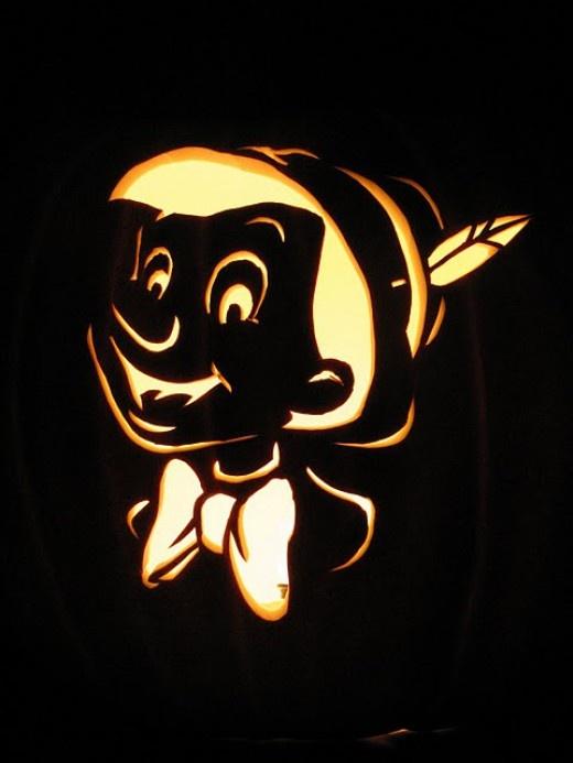 pinochio-pumpkin-design