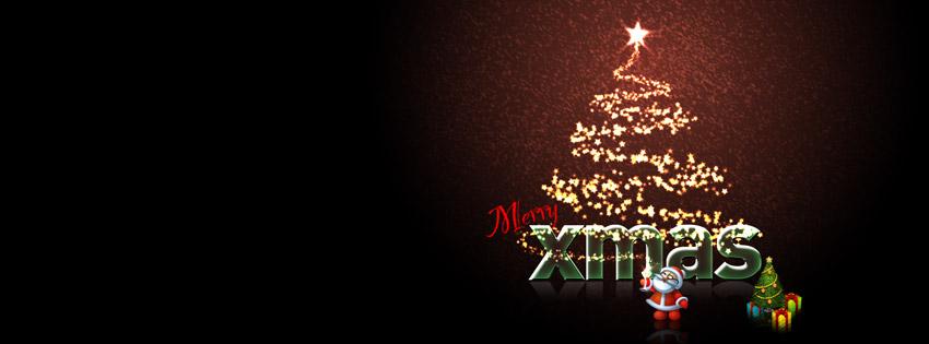 Merry Xmas Facebook Cover Photo