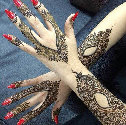 arabic mehndi art