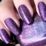 purple color nail designs