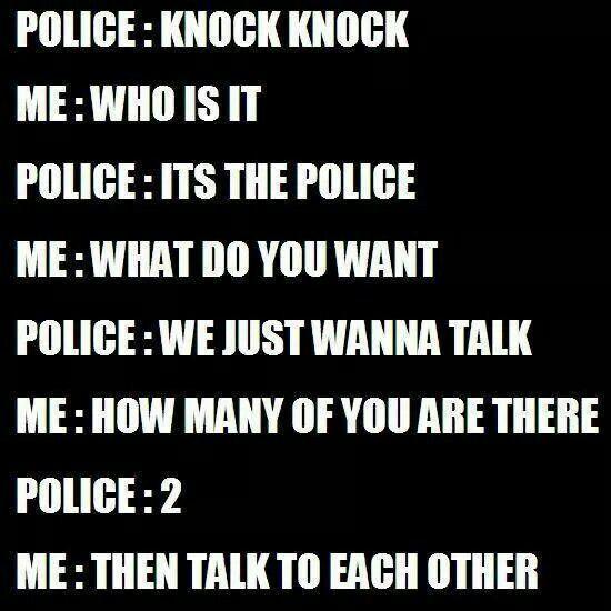 Police Knock Knock Joke