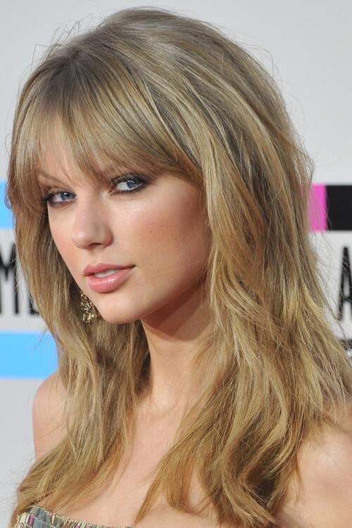 Taylor Swift Bang Haircut