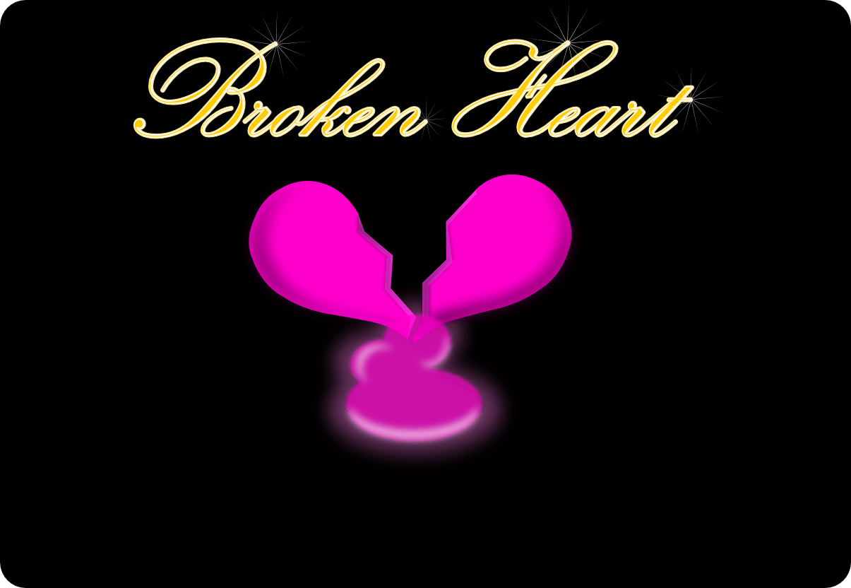 broken heart background