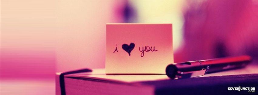 i love you fb cover